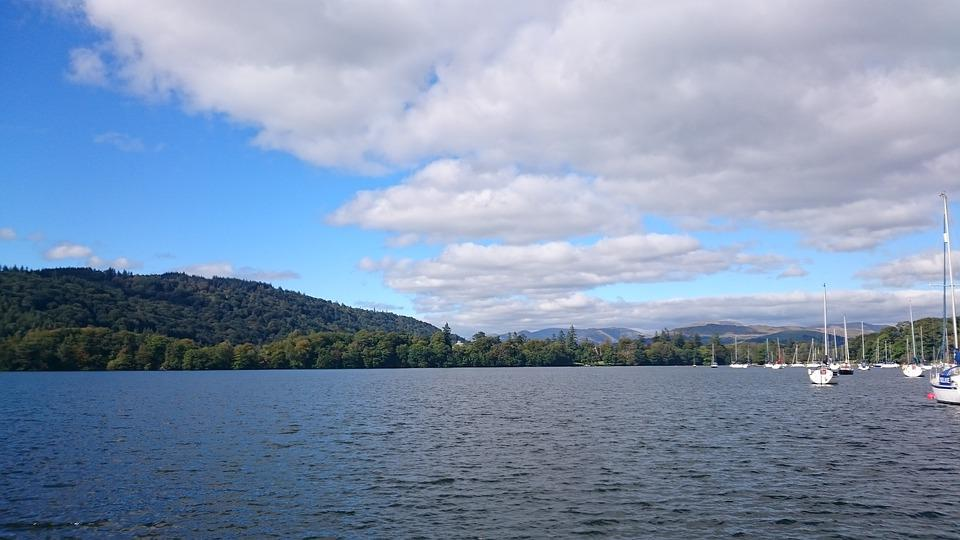 Lake, Windermere, Nature, Water, Outdoor, Mountains