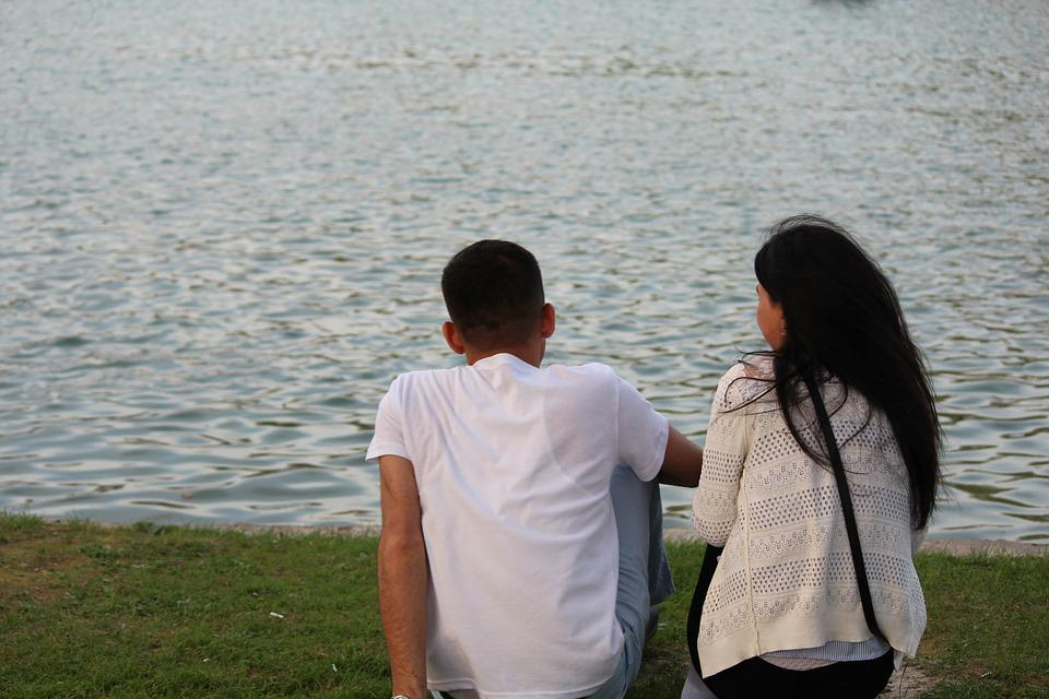 Outdoors, Water, Closeness, Free Time, Nature, Love