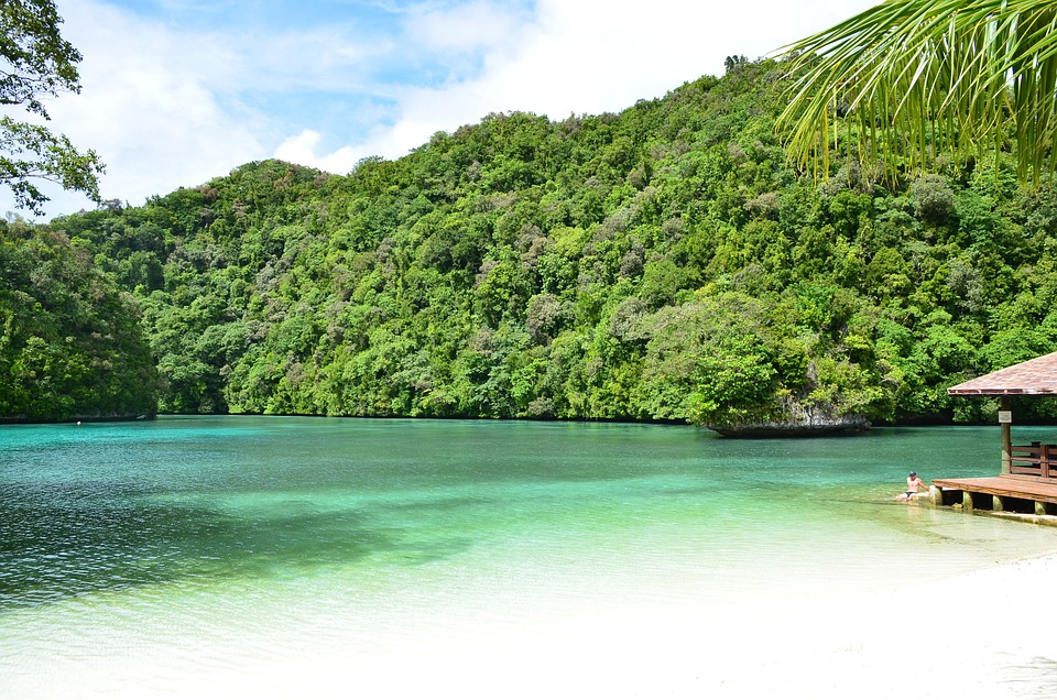 Palau Beach, Bay, Lake, Pond, Sea, Island, Nature