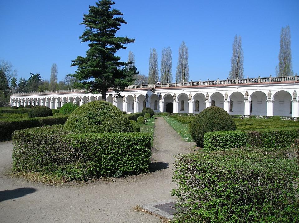 Flower Garden, Kroměříž, Nature, Park