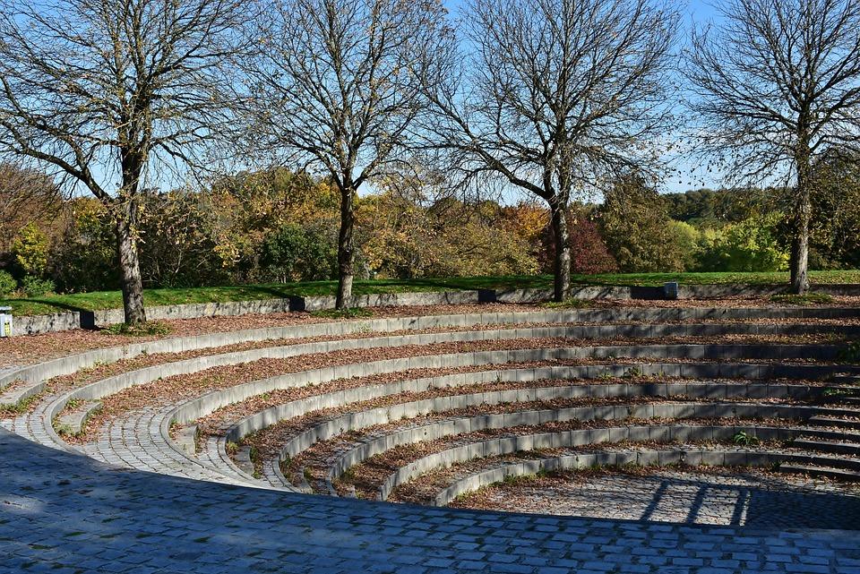 Theatron, Open Air Theatre, Event, Park, Trees, Nature