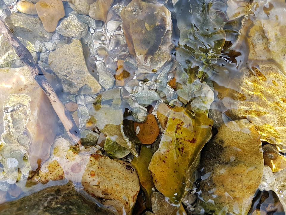Rocks, Pebbles, Water, Nature, Stone, Natural, Sea