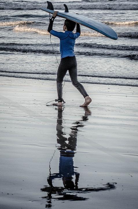 Sports, Surf, People, Beach, Sand, Sea, Nature, Summer
