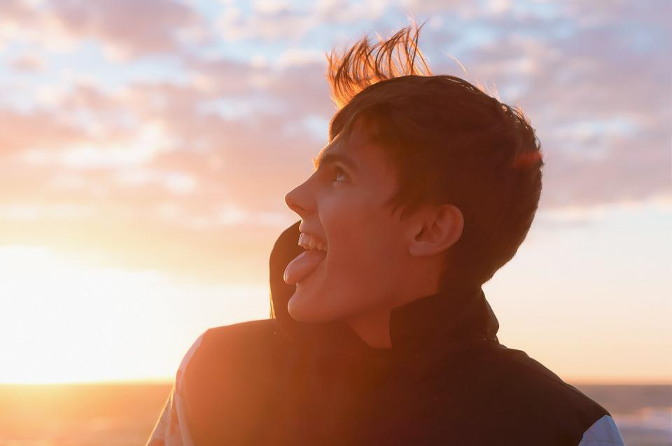 Man, Person, Young, Freedom, Sky, Nature, Happy