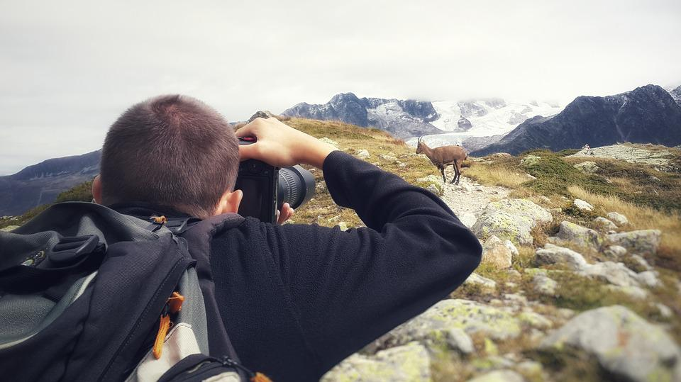 Photographer, Mountain, Nature, Photography, Travel