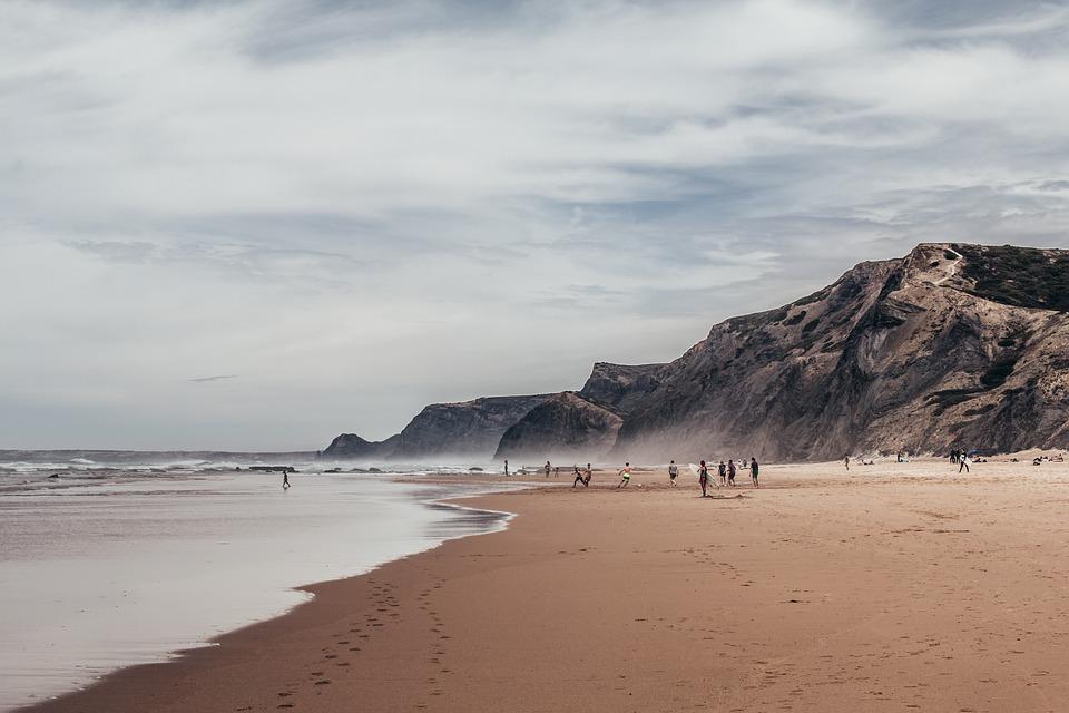Algarve, Sea, O, Ocean, Portugal, Beach, Nature