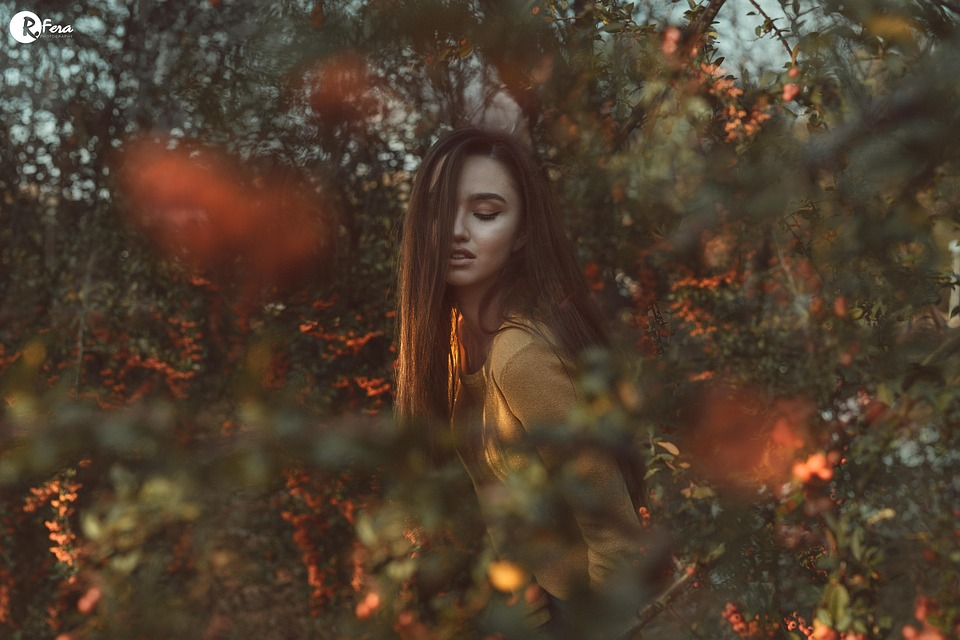 Model, Beauty, Pretty, Sweet, Girl, Nature, Tree, Trees