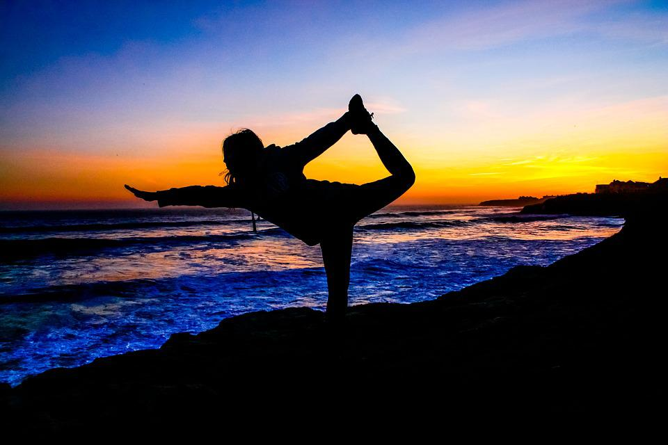 Yoga, Pacific, Healthy, Meditation, Nature, Relax
