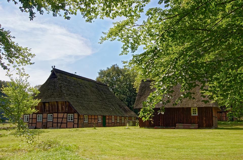 Germany, Lüneburg Heath, Homestead, Nature Reserve
