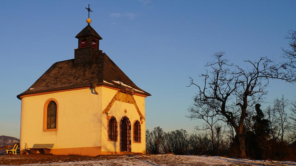 Small Church, Small Kalmit, Nature Reserve, Sachsen