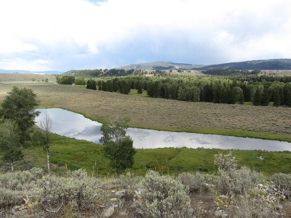 River, Landscape, Valley, Nature