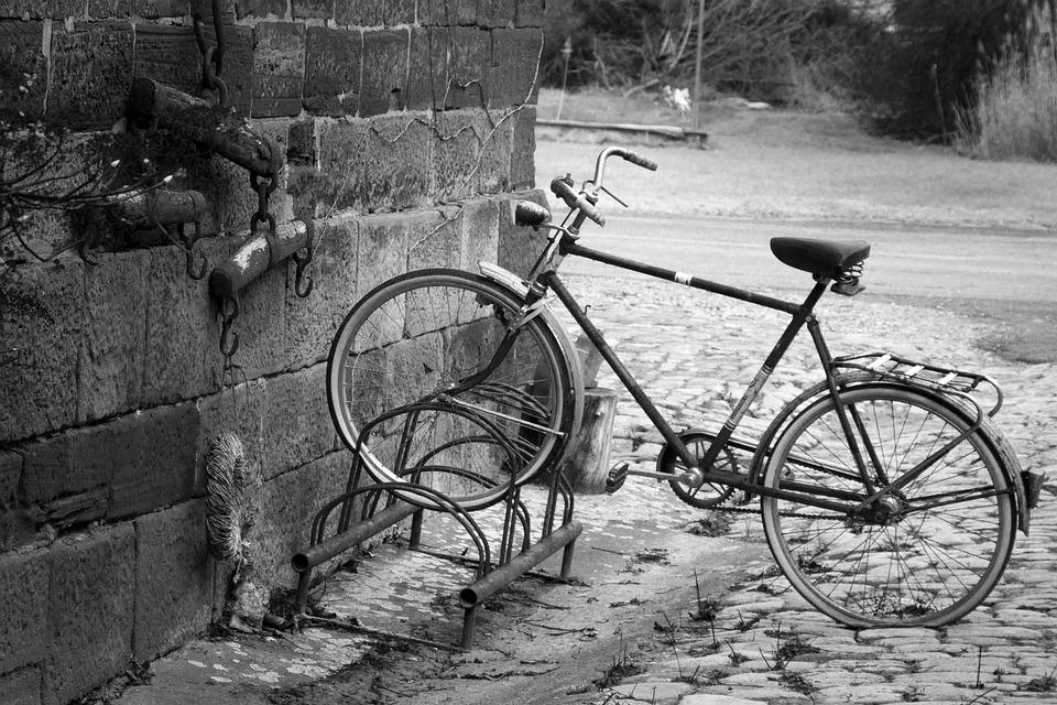 Bike, Hof, Nature, Traffic, Romantic, Wheel, Road