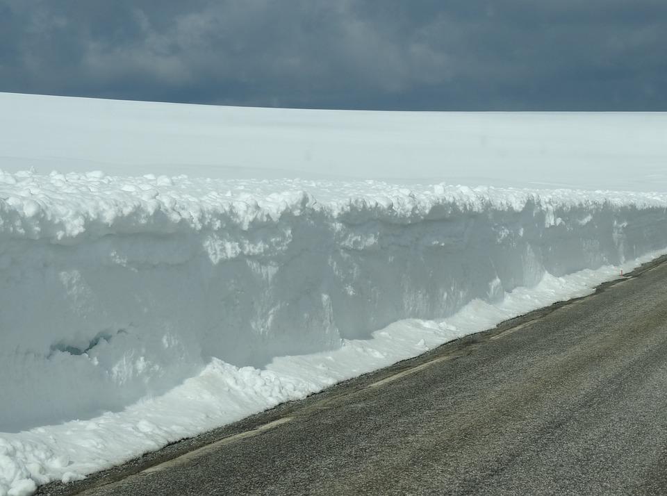 Road, Snow, Winter, Landscape, White, Nature