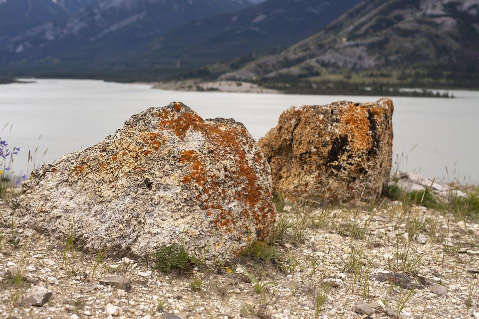 Rocks, Lake, Rock, Water, Landscape, Nature, Hiking