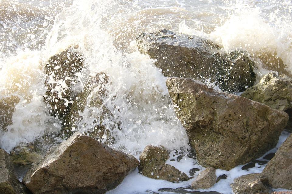 Ocean, Sea, Waves, Beach, Rocks, Water, Nature