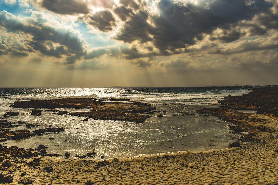 Landscape, Nature, Clouds, Sea, Rocky Coast, Scenic