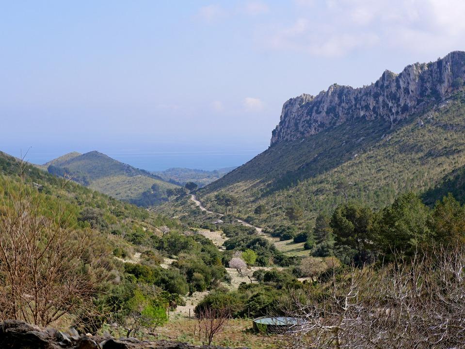 Mallorca, Landscape, Hiking, Route, Nature, Spain