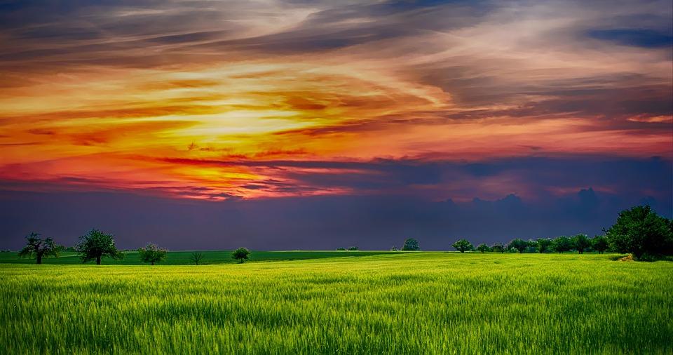 Countryside, Landscape, Nature, Rural, Sky, Sunlight