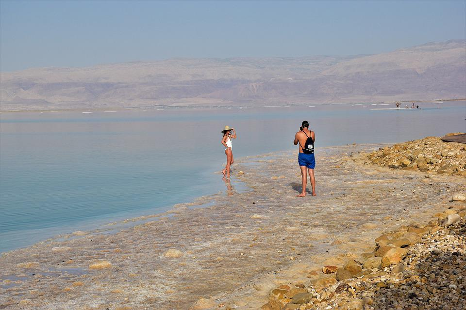 Dead Sea, Salt, I Love You, Israel, Nature, Vacations