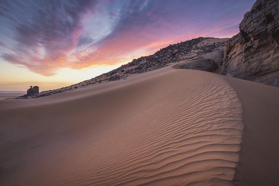 Sand, Desert, Sahara, Landscape, Dry, Hot, Nature, Dune