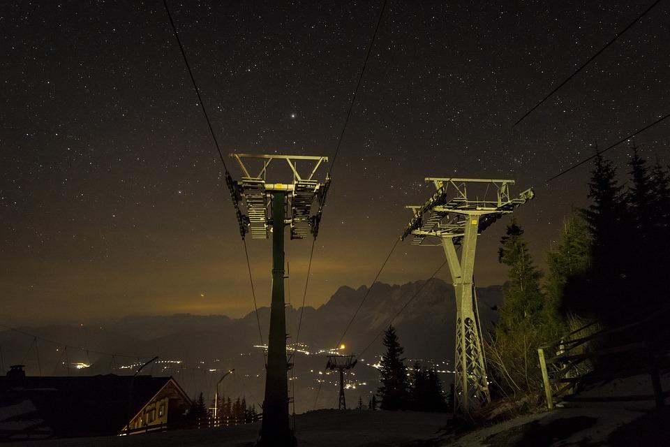 Lift Support, Planai, Schladming, Nature, Alpine