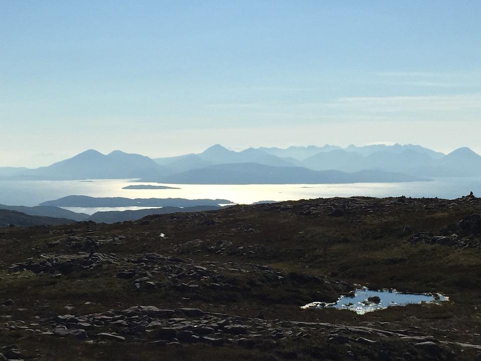 Scotland, Skye, Vista, Place, Nature, Landscape