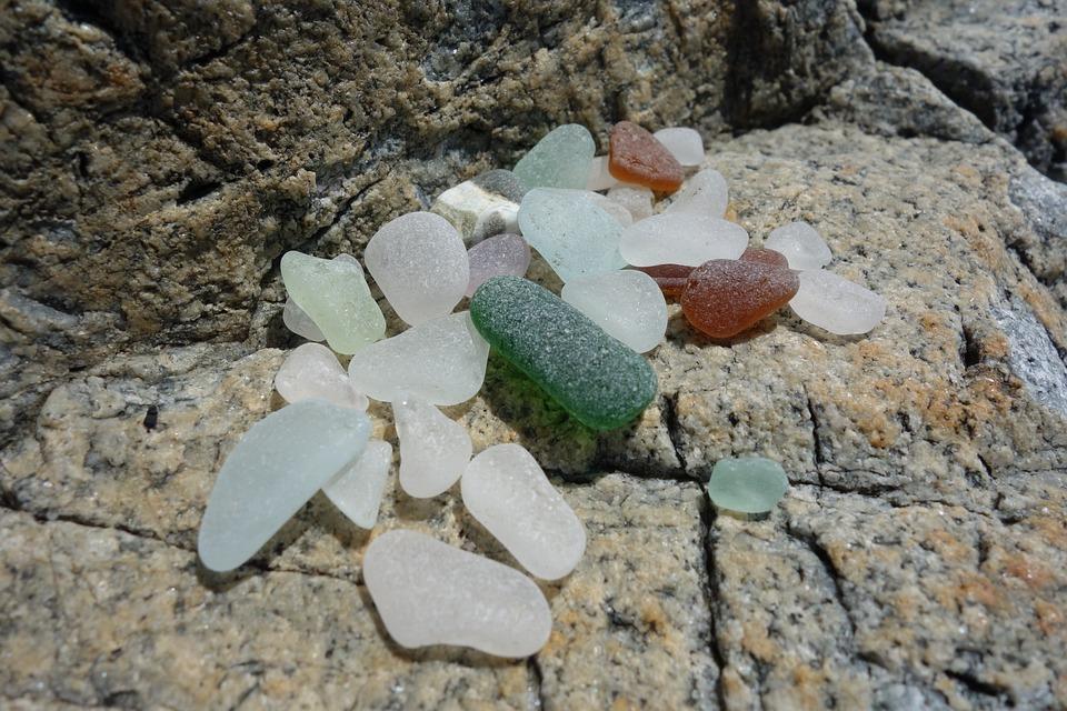 Rocks, Sea, Glass, Stone, Outdoor, Nature