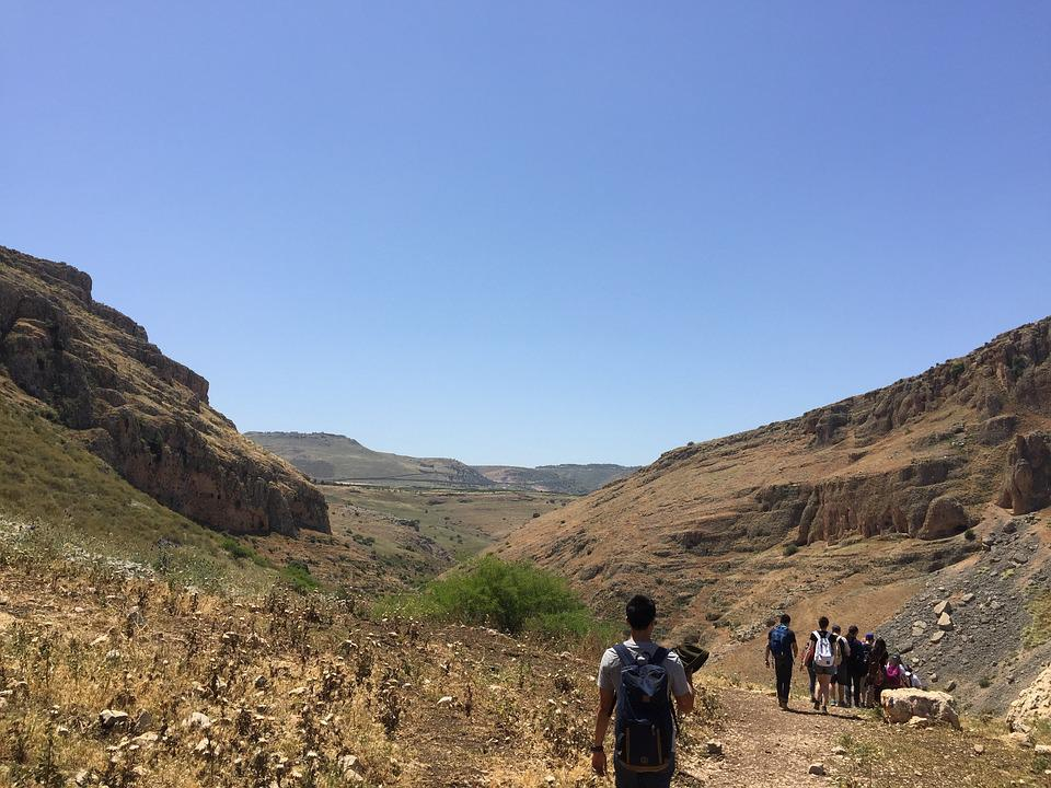 Valley, Sea Of Galilee, Nature, Israel