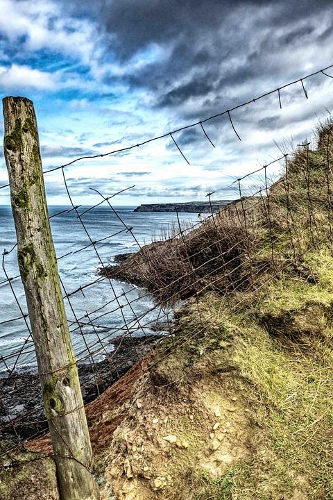 Cliff, Sea, Landscape, Water, Nature, Sky, Ocean