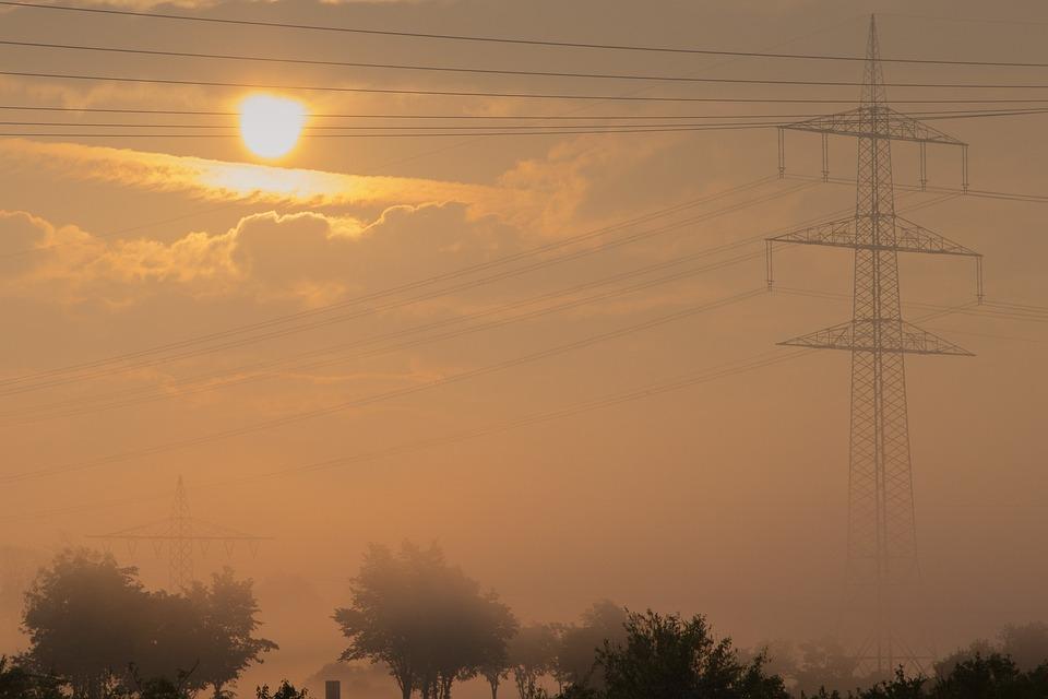 Morning, Fog, Sunrise, Landscape, Skies, Nature