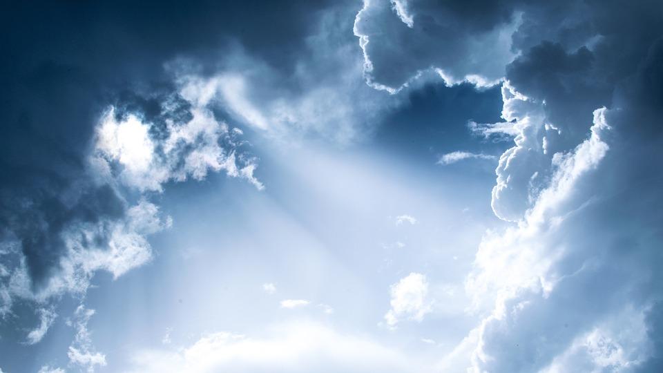 Blue, Sky, Clouds, Nature