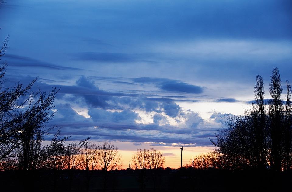 Nature, Panorama, Sky, Dawn
