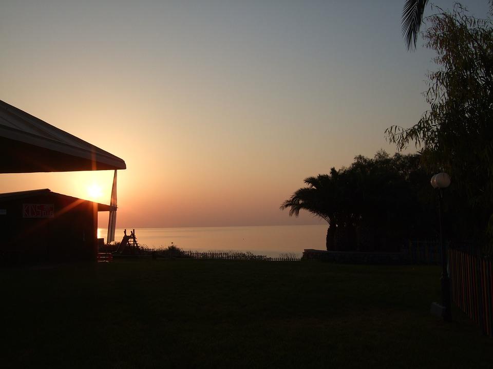 Sunset, Outlook, Sky, Sun, Holiday, Nature, Evening Sky