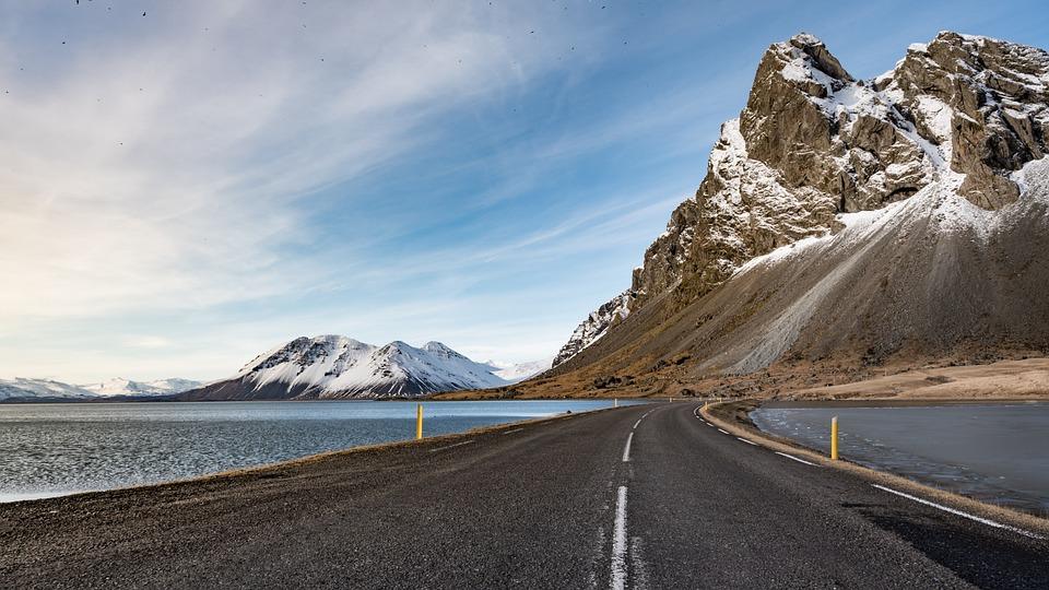 Iceland, Sea, Ocean, Nature, Water, Sky, Clouds