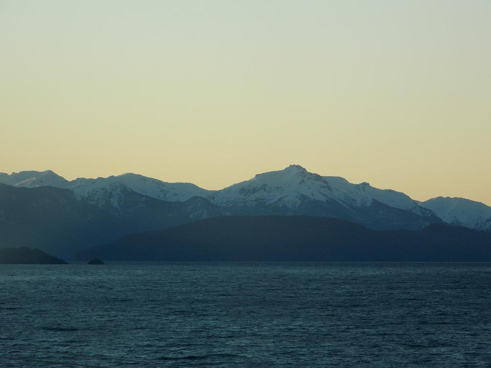 Dawn, Mountains, Landscape, Clouds, Sky, Nature