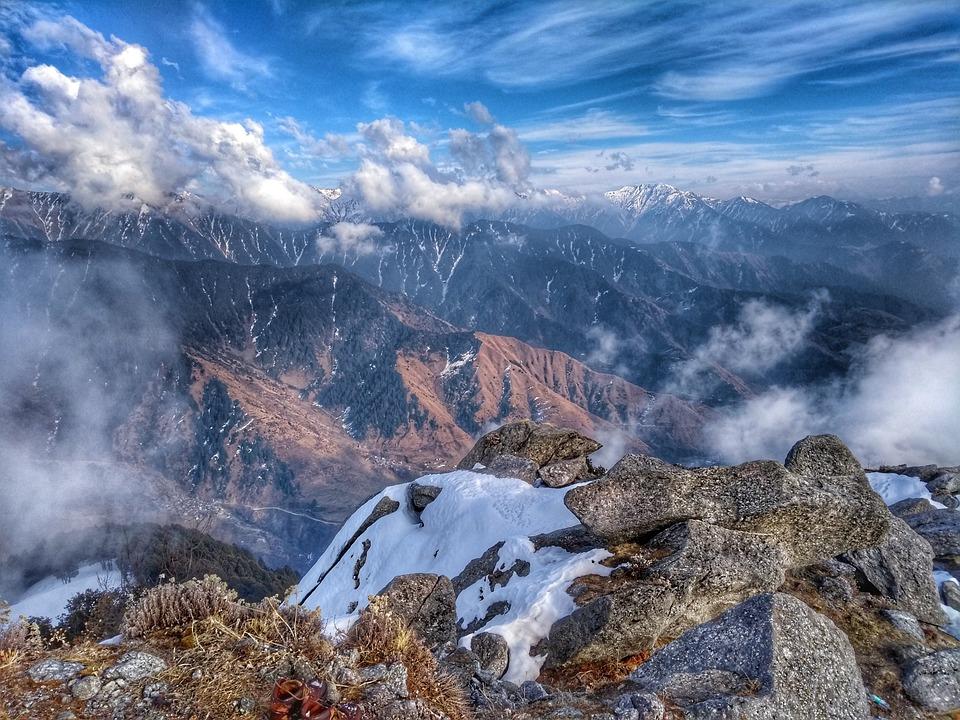 Mountain, Landscape, Nature, Panoramic, Sky