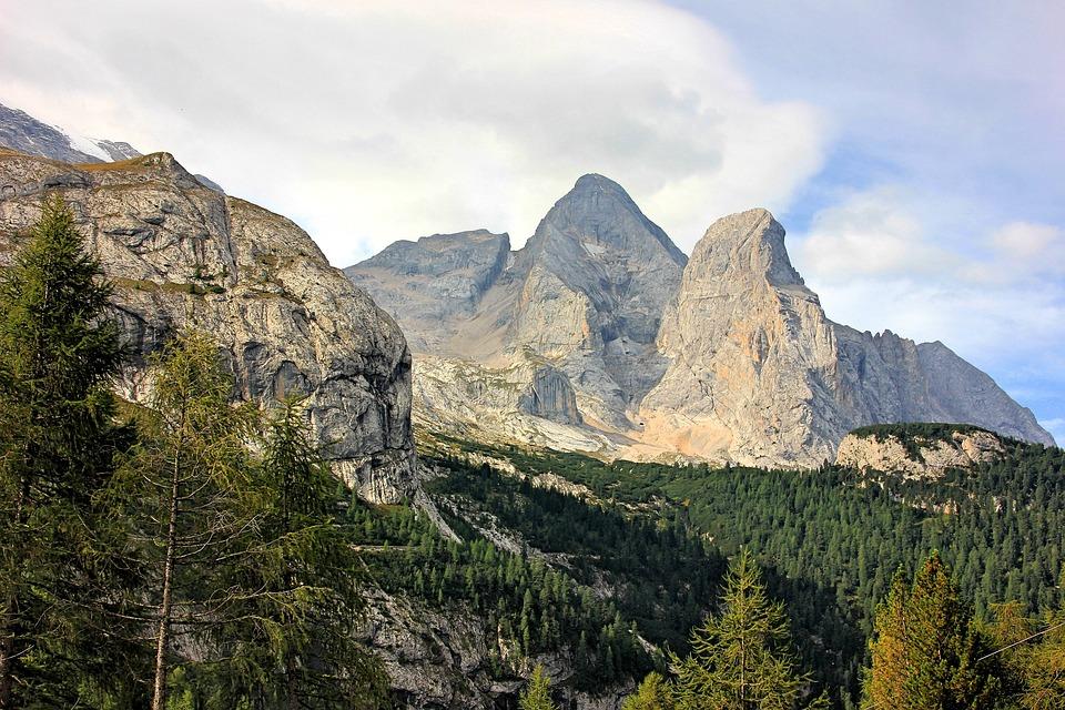 Mountain, Nature, Landscape, Sky, Travel, Rock