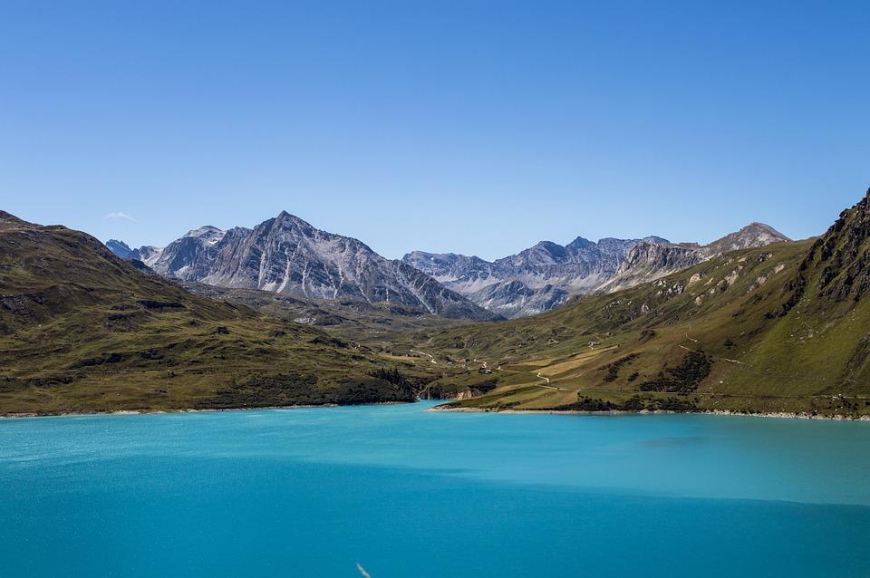 Mountains, Landscape, Nature, Sky, Summer, Hill