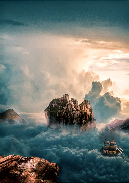 Clouds, Fog, Nature, Selva Marine, Sky, Mountains