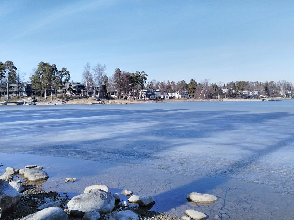 Winter, Snow, Nature, Waters, Travel, Landscape, Ice