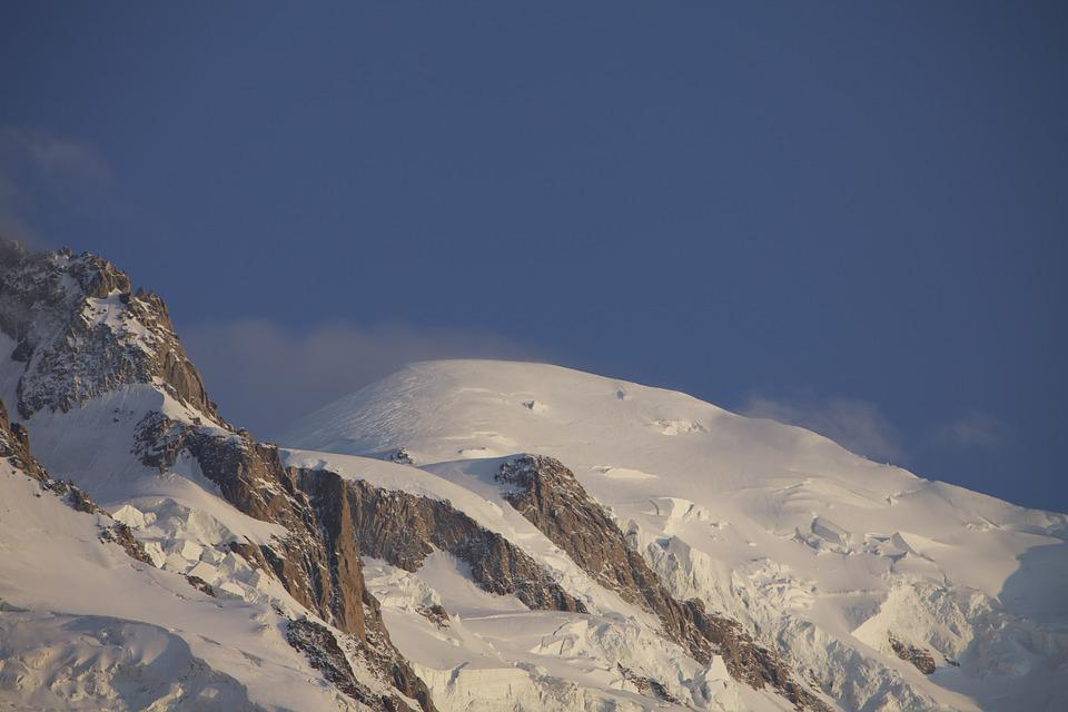Mountain, Snow, Panoramic, Nature