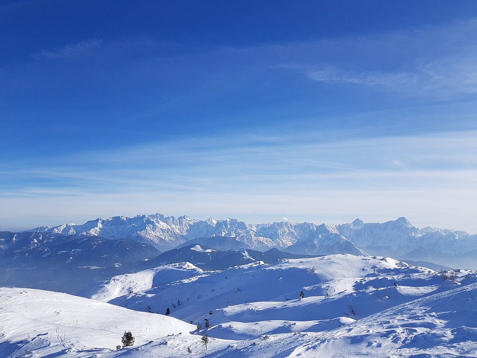 Snow, Winter, Cold, Mountain, Nature, Sky, Ice, High
