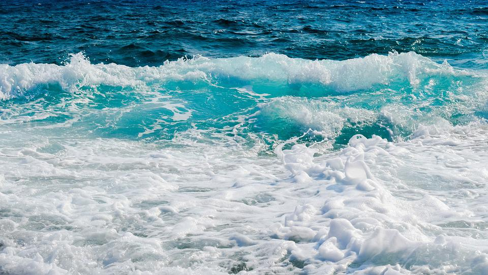 Waves, Smashing, Foam, Spray, Sea, Nature, Wind, Power