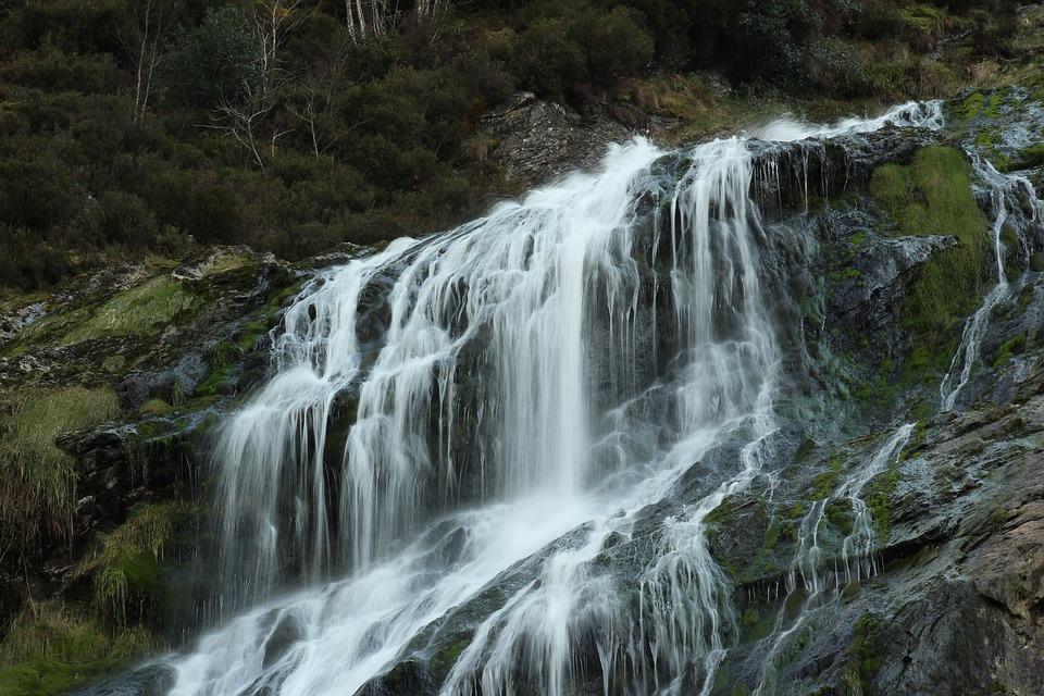 Water, Waterfall, Nature, River, Stream
