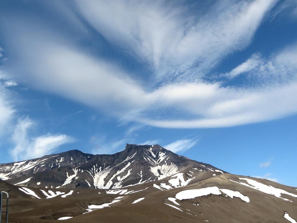 Clouds, Sky, Nature, Landscape, Summer, Snow, The Snow