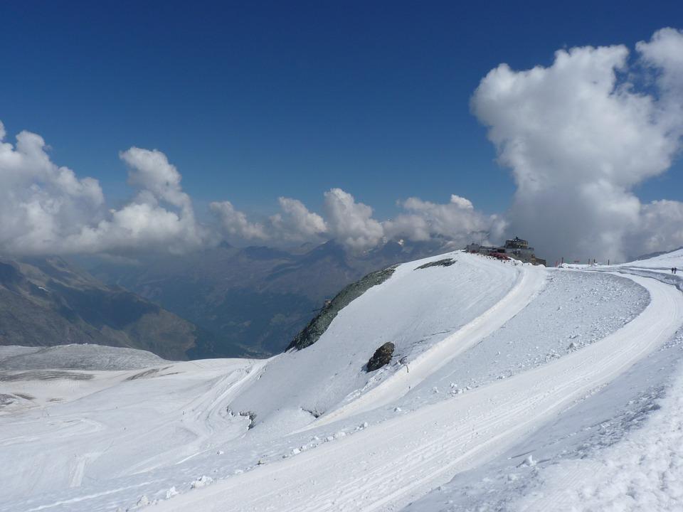 Nature, Summer, Snow, Switzerland