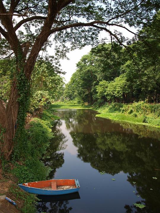 Boat, Water, Lake, Nature, Summer, River