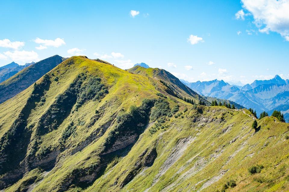 Mountains, Hiking, Alpine, Summit, Panorama, Nature