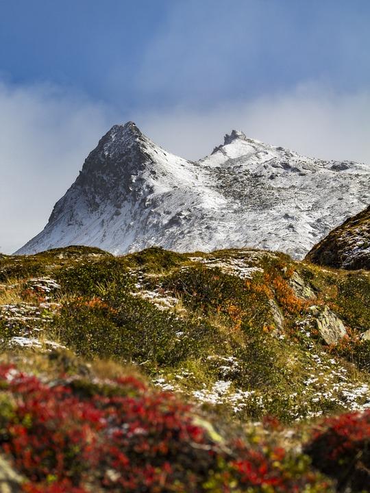 Alpine, Mountains, Landscape, Nature, Summit, Sky, Snow