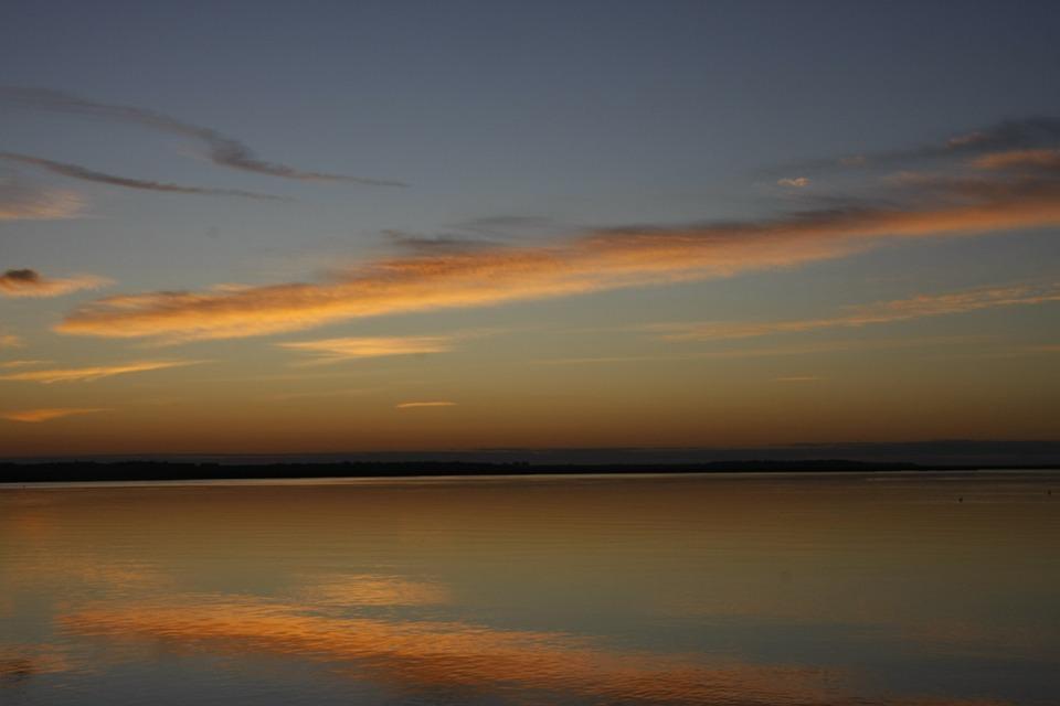 Georgia, Georgia Sunrise, Nature, Water, Sunrise